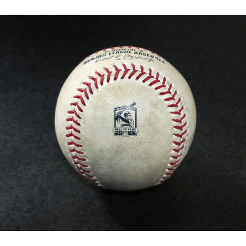 Photo of Game-Used Baseball - Pitcher: Tommy Milone, Batter: Austin Meadows (Called Strike, Ball) - 8/10/19 vs. TB