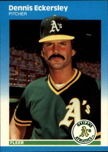 Photo of 1987 Fleer Update #30 Dennis Eckersley