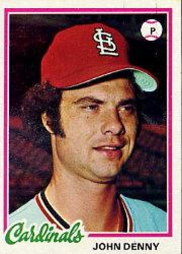 Photo of 1978 Topps #609 John Denny