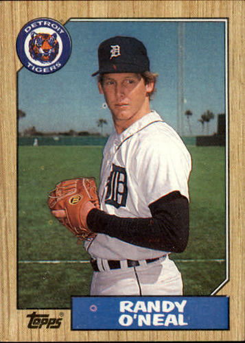 Photo of 1987 Topps #196 Randy O'Neal