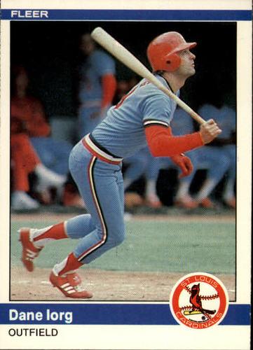 Photo of 1984 Fleer #326 Dane Iorg
