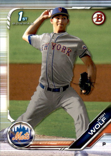 Photo of 2019 Bowman Draft #BD119 Josh Wolf