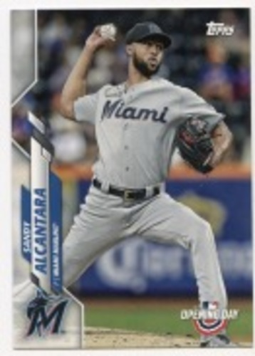 Photo of 2020 Topps Opening Day #49 Sandy Alcantara