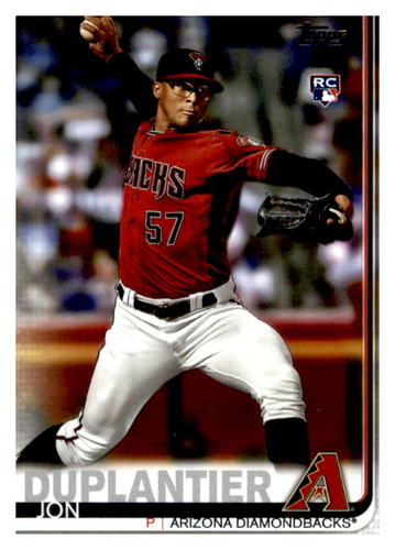 Photo of 2019 Topps Update #US244 Jon Duplantier RC