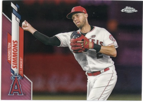 Photo of 2020 Topps Chrome Pink Refractors #72 Andrelton Simmons
