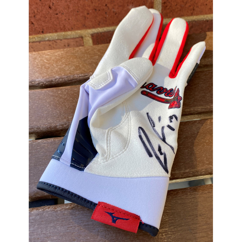 Photo of Ronald Acuna Jr. MLB Authenticated Autographed (XL) Batting Glove