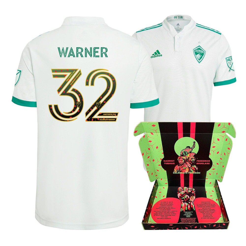 Collen Warner Colorado Rapids Player-Issued  & Signed