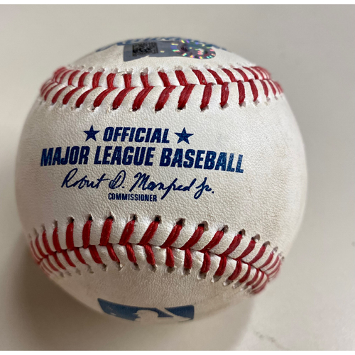 Photo of Game-Used Baseball: Victor Reyes Detroit Tigers Inside the Park Home Run (MLB AUTHENTICATED)