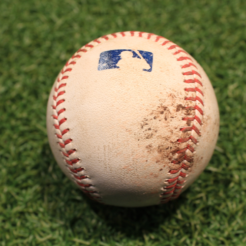 Photo of Game-Used Baseball: Andrew Vaughn 74th Career Hit (CWS@KC 7/28/21)