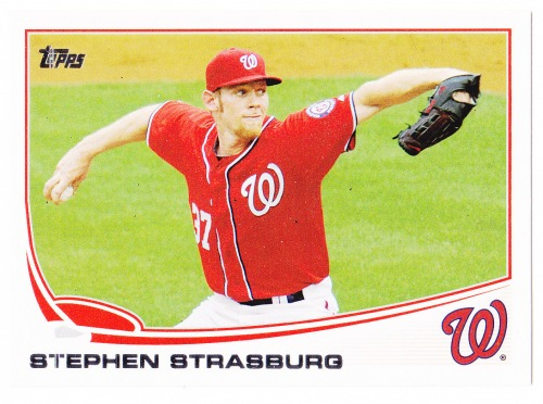 Photo of 2013 Topps #500 Stephen Strasburg