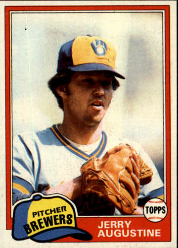 Photo of 1981 Topps #596 Jerry Augustine