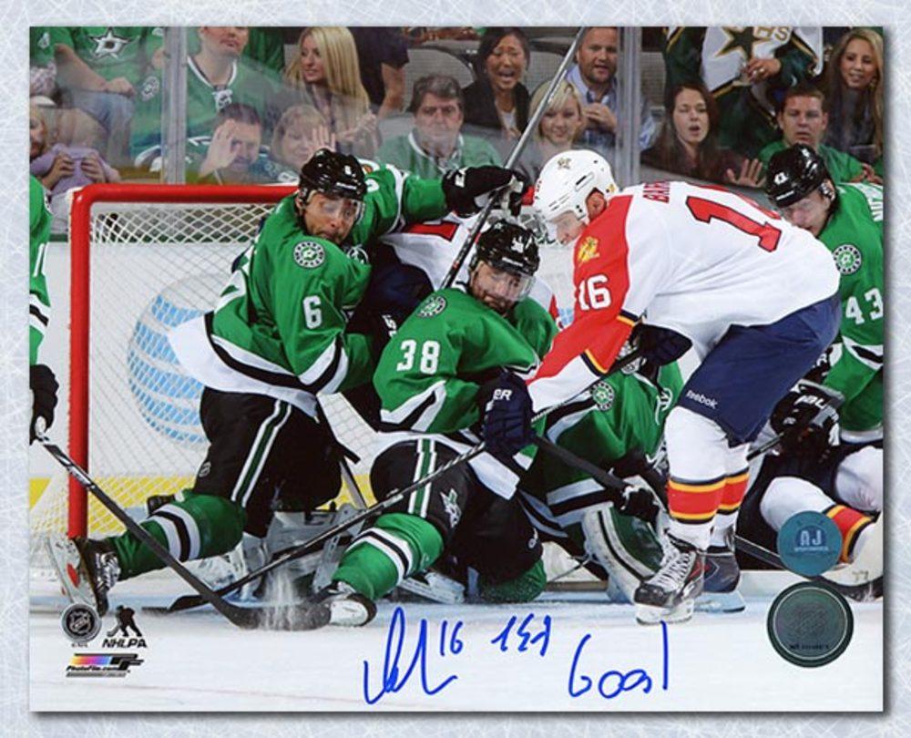 Aleksander Barkov Florida Panthers Autographed 1st Goal Inscribed 8x10 Photo