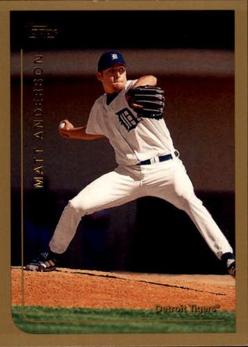 Photo of 1999 Topps #21 Matt Anderson