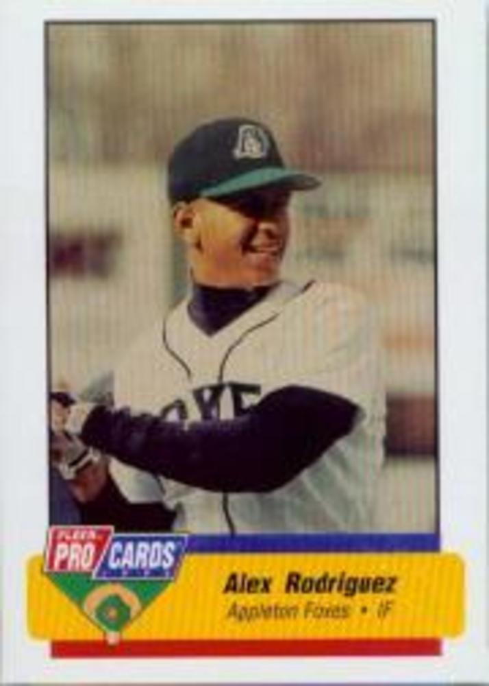 1994 Appleton Foxes Fleer/ProCards #1063 Alex Rodriguez