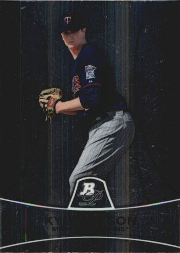 Photo of 2010 Bowman Platinum Prospects #PP20 Kyle Gibson Pre-Rookie Card
