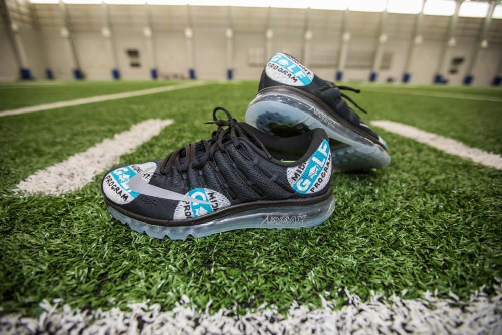 MY CAUSE MY CLEATS - Lions Head Coach Jim Caldwell CUSTOM CLEATS (Week 13 2017)