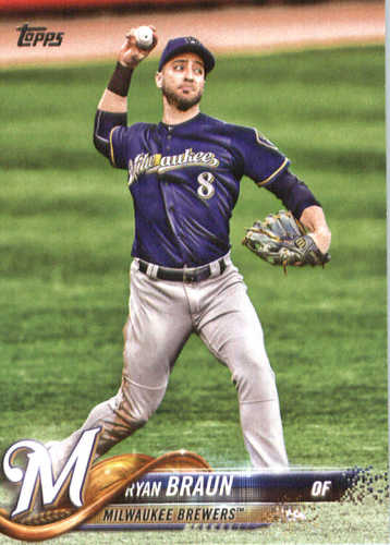 Photo of 2018 Topps #180 Ryan Braun