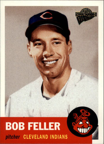 Photo of 2003 Topps All-Time Fan Favorites #85 Bob Feller-- Hall of Fame Class of 1962