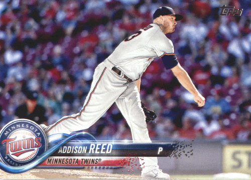 Photo of 2018 Topps #595 Addison Reed