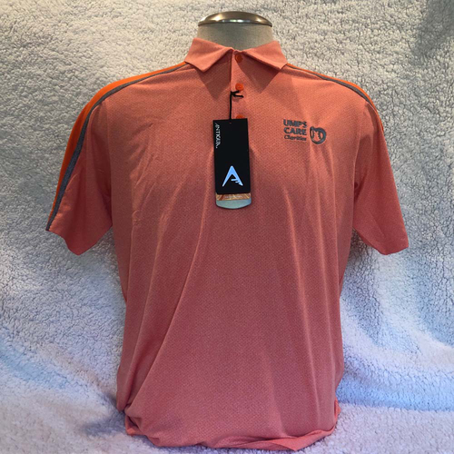 Photo of UMPS CARE AUCTION: UMPS CARE Antigua Sustain Polo Shirt, Orange (Select Your Size)