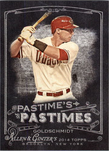 Photo of 2014 Topps Allen and Ginter The Pastime's Pastime #PPPG Paul Goldschmidt