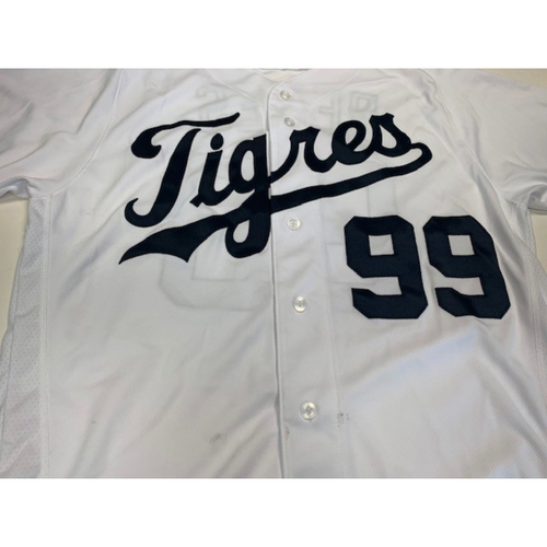 Photo of Team-Issued Fiesta Tigers Jersey: Tim Remes