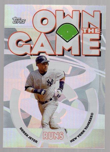 Photo of 2006 Topps Own the Game #OG18 Derek Jeter