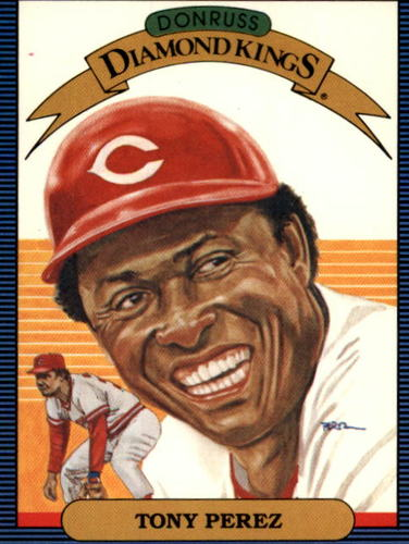 Photo of 1986 Donruss #15 Tony Perez DK