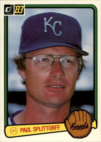 Photo of 1983 Donruss #286 Paul Splittorff