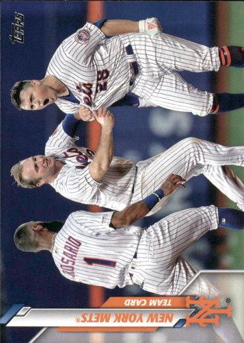 Photo of 2020 Topps #202 New York Mets TC