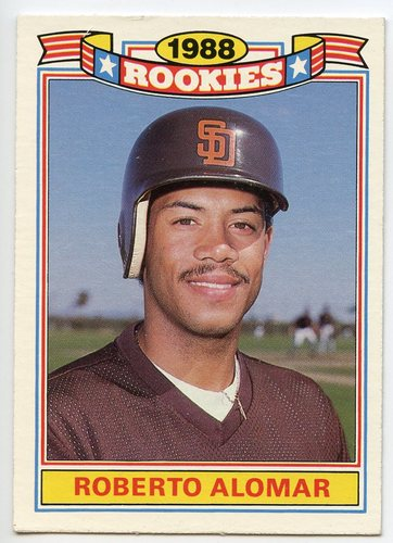 Photo of 1989 Topps Rookies #1 Roberto Alomar