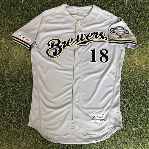 Photo of Team-Issued Jersey Road Grey #18 Hiura 2019