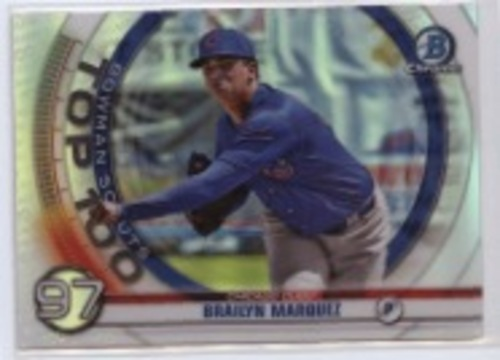 Photo of 2020 Bowman Chrome Scouts Top 100 #BTP97 Brailyn Marquez