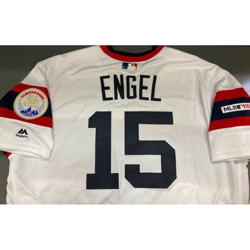 Adam Engel 2019 Team Issued 1983 Throwback Jersey - Size 46
