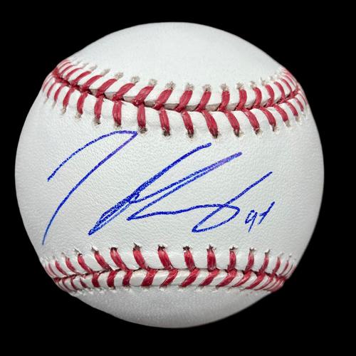 Photo of Iván Herrera Autographed Baseball