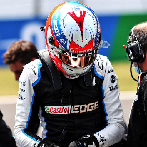 Photo of Esteban Ocon 2021 Race Used Race Suit - US GP