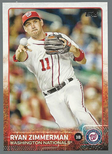 Photo of 2015 Topps #274 Ryan Zimmerman