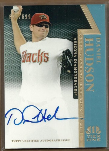 Photo of 2011 Topps Tier One On The Rise Autographs #DH Daniel Hudson/699