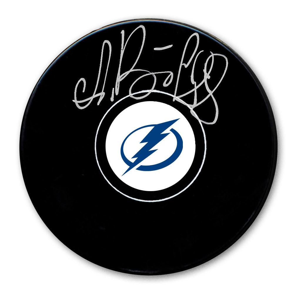 Andrei Vasilevskiy Tampa Bay Lightning Autographed Puck