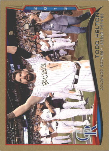 Photo of 2014 Topps Gold #253 Todd Helton HL