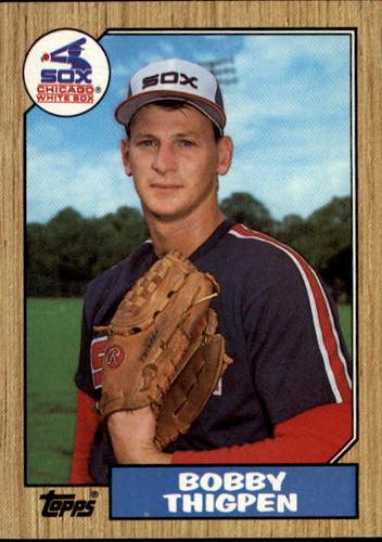 Photo of 1987 Topps #61 Bobby Thigpen RC