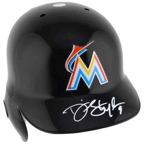 Dee Gordon Miami Marlins Autographed Replica Batting Helmet