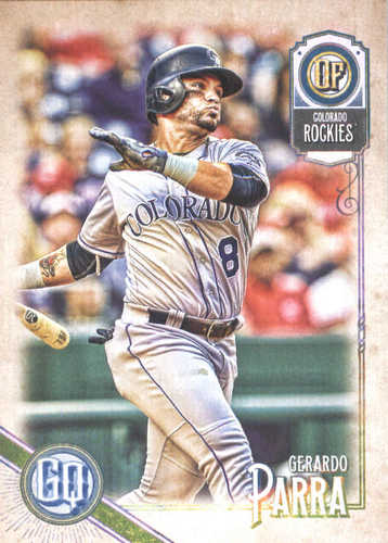 Photo of 2018 Topps Gypsy Queen #43 Gerardo Parra