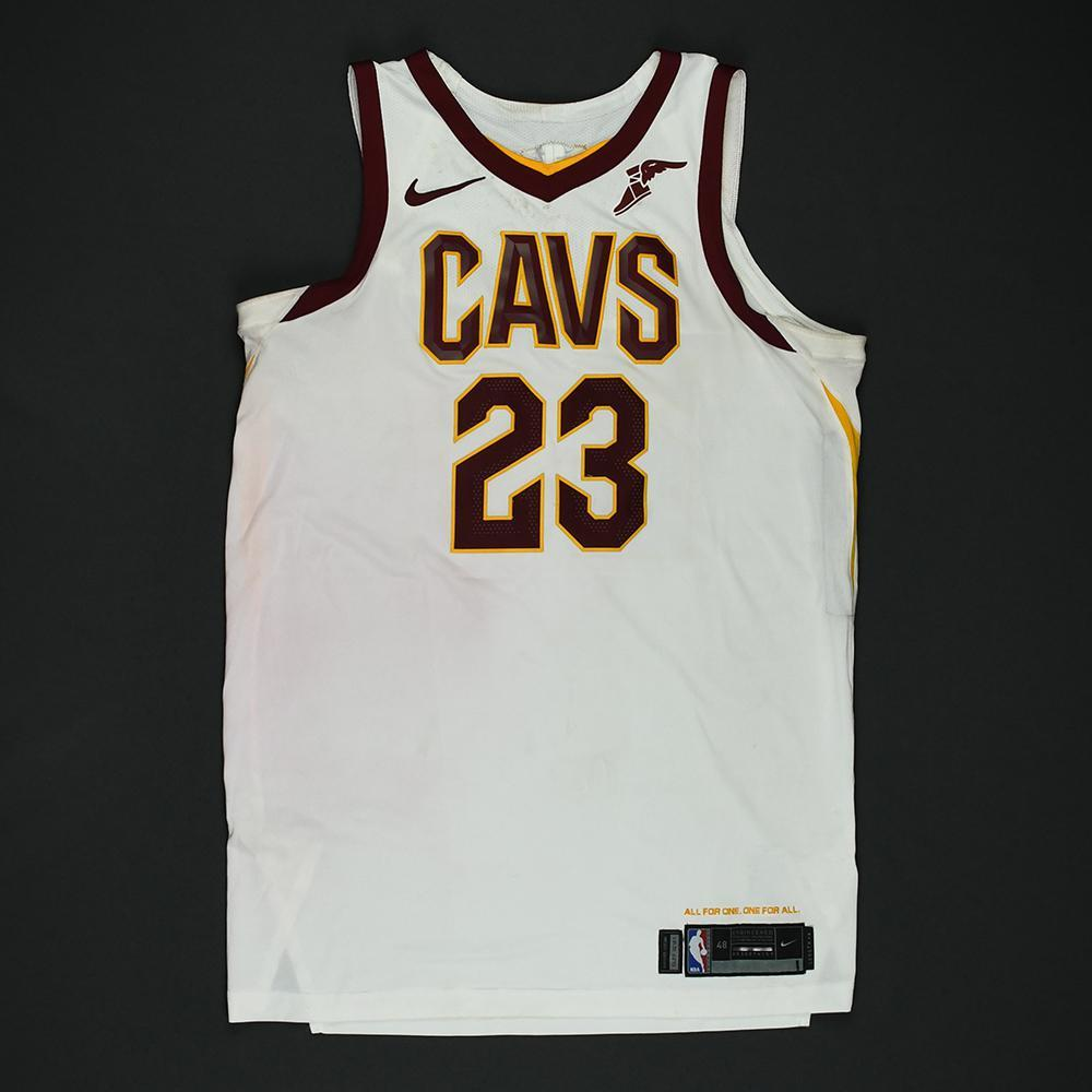 new product ff338 2cf6f LeBron James - Cleveland Cavaliers - 2018 NBA Finals - Game ...