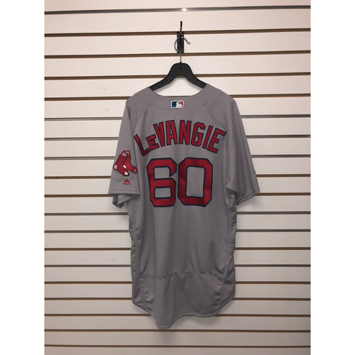 Photo of Dana Levangie Game Used September 23, 2017 Road Jersey