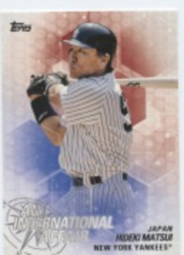 Photo of 2018 Topps Update An International Affair #IA26 Hideki Matsui