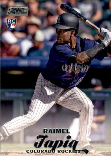 Photo of 2017 Stadium Club #244 Raimel Tapia Rookie Card