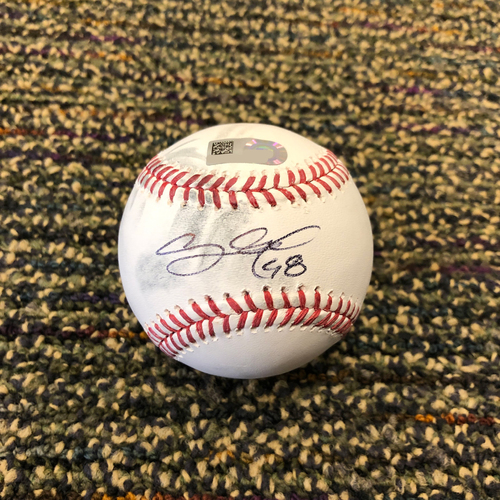 Photo of Pablo Sandoval Foundation Auction - Ceremonial 1st Pitch Autographed and Thrown by #48 Pablo Sandoval on 5/11/19