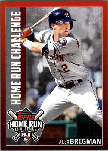 Photo of 2019 Topps Home Run Challenge #HRC14 Alex Bregman