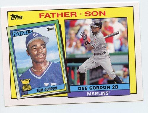 Photo of 2016 Topps Archives '85 Father Son #FSGGO Tom Gordon/Dee Gordon